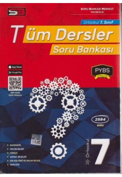 SBM 7. Sınıf Tüm Dersler Soru Bankası Yeni