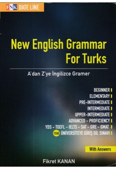 New English Grammar For Turks