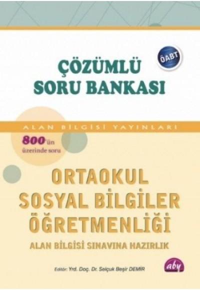 ÖABT İlköğretimSosyal Bilgiler Öğretmenliği Çözümlü Soru Bankası