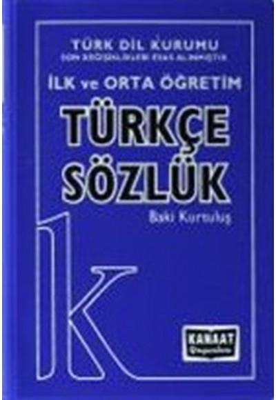 Kanaat İlk ve Orta Öğretim Türkçe Sözlük