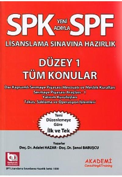 SPK-SPF Tüm Konular