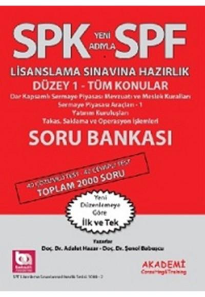 SPK-SPF Tüm Konular Soru Bankası
