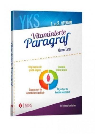 Sonuç YKS Vitaminlerle Paragraf 1. ve 2. Oturum 2019 2020 Yeni
