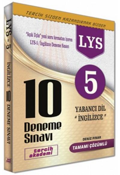 Tercih Akademi LYS 5 Yabancı Dil İngilizce 10 Deneme Sınavı