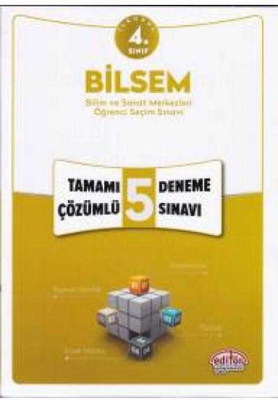 Editör 4. Sınıf Bilsem Tamamı Çözümlü 5 Deneme Sınavı