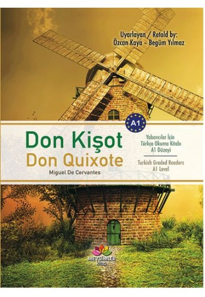 Don Kişot (Yabancılar İçin Türkçe Okuma Kitabı)