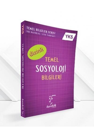 Karekök YKS Temel Sosyoloji Bilgileri El Kitabı