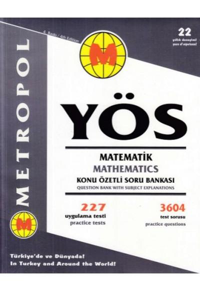 Metropol YÖS Matematik Konu Özetli Soru Bankası Yeni