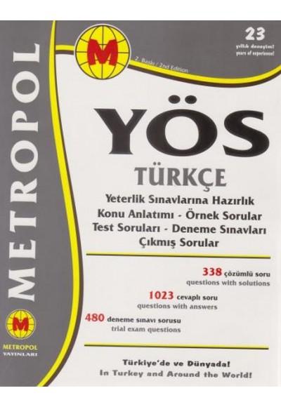 Metropol YÖS Türkçe Yeni
