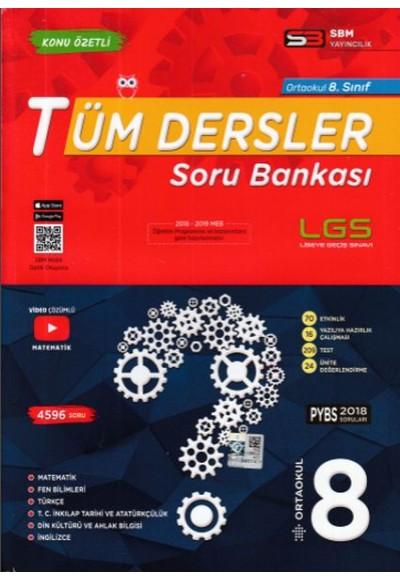 SBM 8. Sınıf Tüm Dersler Soru Bankası Yeni