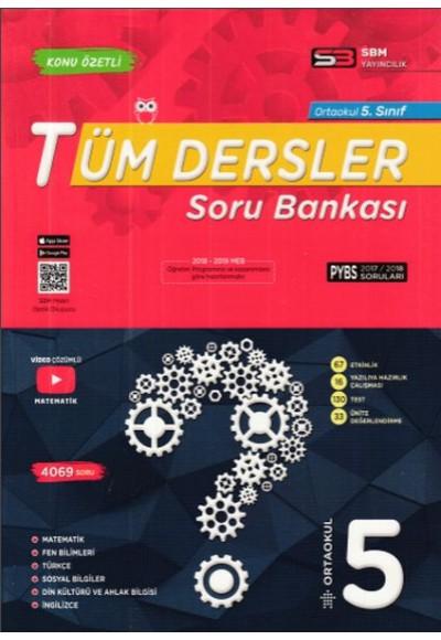 SBM 5. Sınıf Tüm Dersler Soru Bankası Yeni