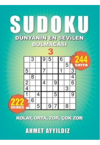 Sudoku Dünyanın En Sevilen Bulmacası 3