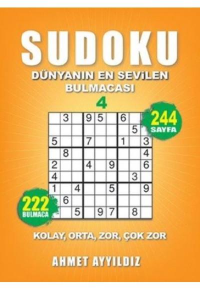 Sudoku Dünyanın En Sevilen Bulmacası 4