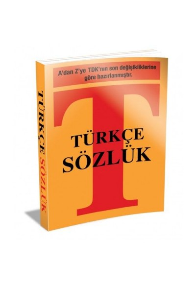 Türkçe Sözlük Küçük Boy Plastik Kapak
