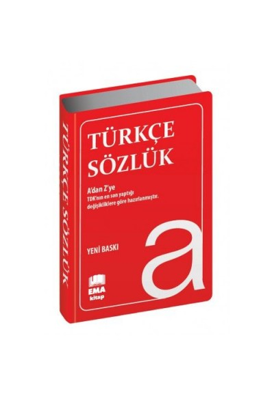 Türkçe Sözlük Plastik Kapak