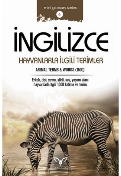 İngilizce Hayvanlarla İngilizce Terimler (Mini Glossary Series 6)