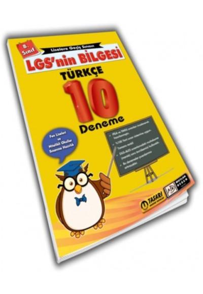 Mutlak Değer 8. Sınıf LGS'nin Bilgesi Türkçe 10 Deneme