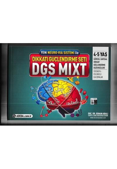 Yeni Neura Via Sistemi ile Dikkat Güçlendirme Seti DGS Mixt 4 5 Yaş