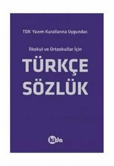 Kida Türkçe Sözlük TDK Uyumlu