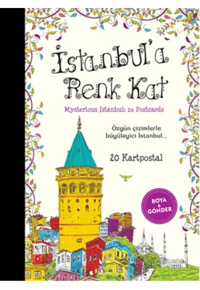 İstanbula Renk Kat 20 Kartpostal