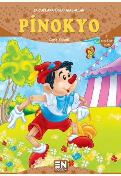 Çocuklara Ünlü Masallar Pinokyo