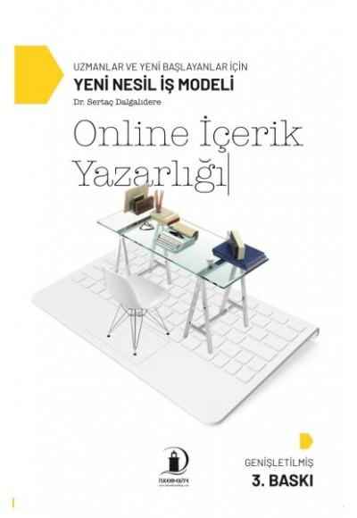 Online İçerik Yazarlığı Uzmanlar ve Yeni Başlayanlar İçin Yeni Nesil İş Modeli