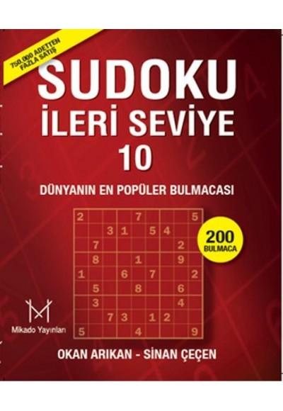 Sudoku İleri Seviye 10 Profesyoneller İçin