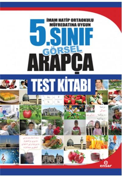 5. Sınıf Görsel Arapça Test Kitabı İmam Hatip Ortaokulu Müfredatına Uygun