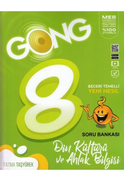 Gong 8. Sınıf Din Kültürü ve Ahlak Bilgisi Yeni Nesil Soru Bankası