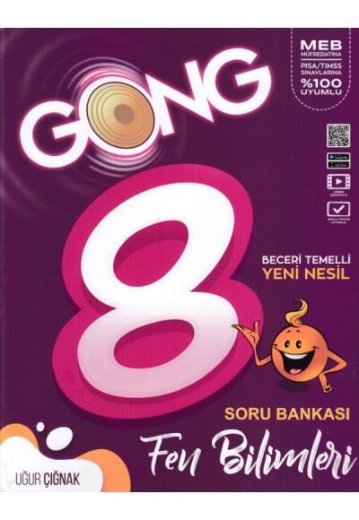 Gong 8. Sınıf Fen Bilimleri Beceri Temelli Yeni Nesil Soru Bankası