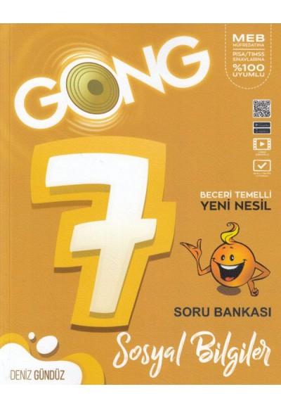 Gong 7. Sınıf Sosyal Bilgiler Beceri Temelli Yeni Nesil Soru Bankası