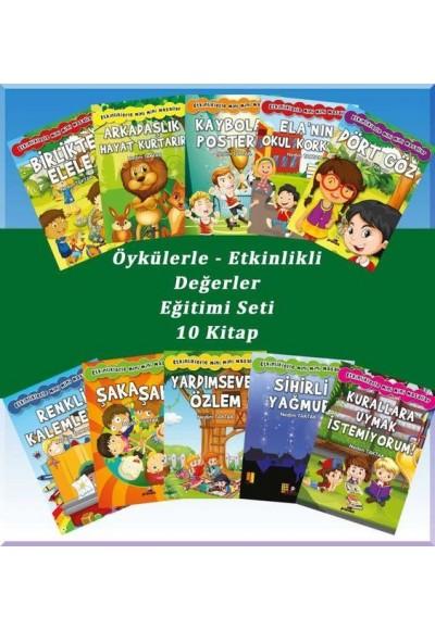 Öykülerle Etkinlikli Değerler Eğitimi Seti - 10 Kitap Takım