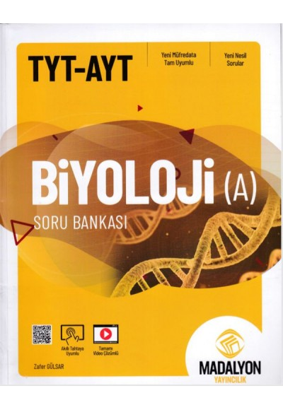Madalyon TYT AYT Biyoloji Soru Bankası A