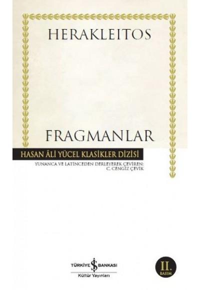 Fragmanlar Hasan Ali Yücel Klasikler Ciltsiz