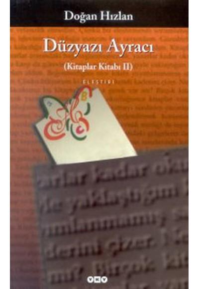 Düzyazı Ayracı (Kitaplar Kitabı 2)