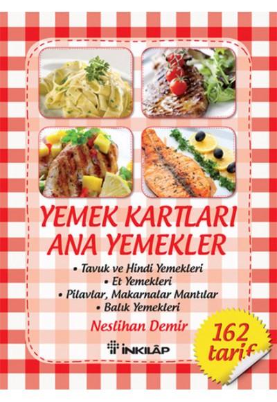 Yemek Kartları - Ana Yemekler