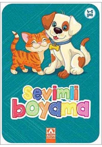 Sevimli Boyama Turkuaz