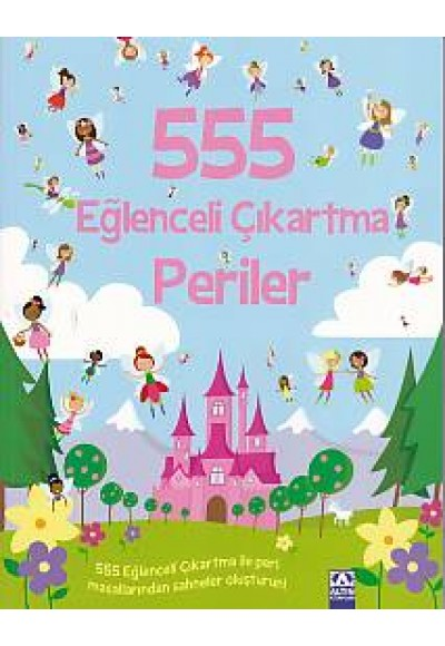 555 Eğlenceli Çıkartma - Periler