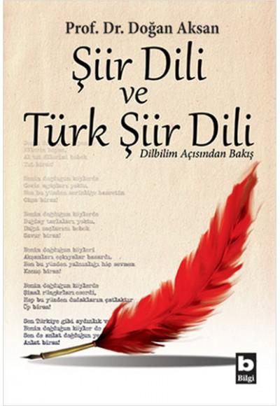 Şiir Dili ve Türk Şiir Dili Dilbilim Açısından Bakış