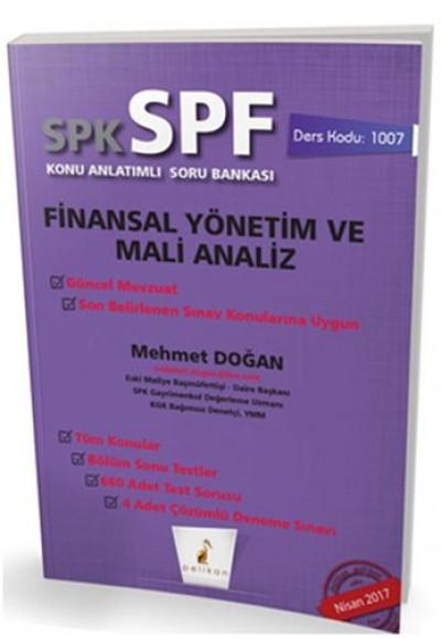 SPK SPF Finansal Yönetim ve Mali Analiz Konu Anlatımlı Soru Bankası