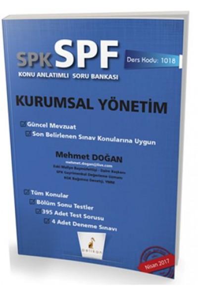 SPK SPF Kurumsal Yönetim Konu Anlatımlı Soru Bankası