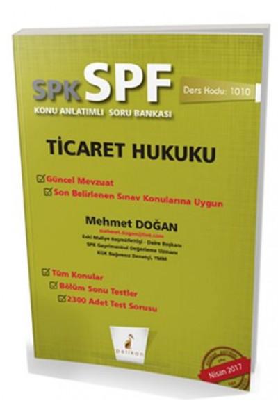 SPK SPF Ticaret Hukuku Konu Anlatımlı Soru Bankası