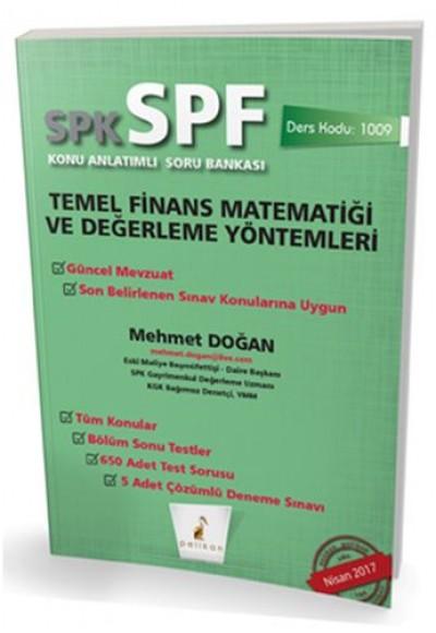 SPK SPF Temel Finans Matematiği ve Değerleme Yöntemleri Konu Anlatımlı Soru Bankası