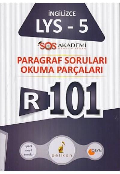Pelikan R101 İngilizce LYS 5 Paragraf Soruları Okuma Parçaları