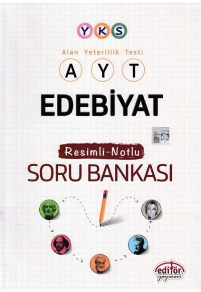 Editör YKS Edebiyat Resimli Notlu Soru Bankası Yeni