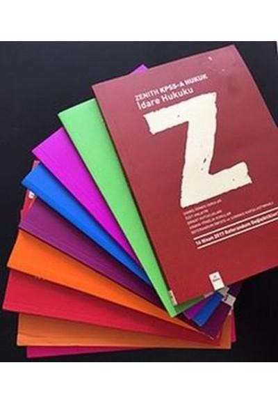Zenith KPSS A Hukuk Seti 9 Kitap