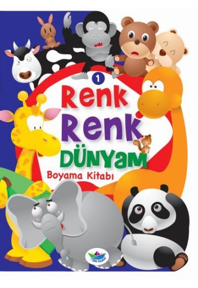 Renk Renk Dünyam Boyama Kitabı 1 Hayvanlar