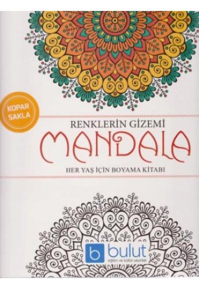 Renklerin Gizemi Mandala Her Yaş İçin Boyama Kitabı