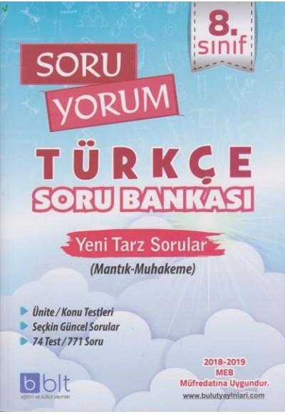 Bulut 8. Sınıf Soru Yorum Türkçe Soru Bankası