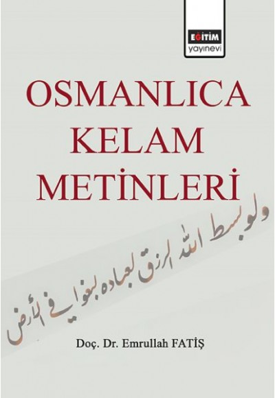 Osmanlıca Kelam Metinleri